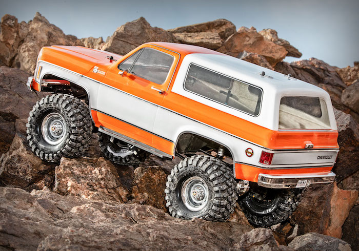 Traxxas: Chevy K5 Blazer – Crawler Paradise video!
