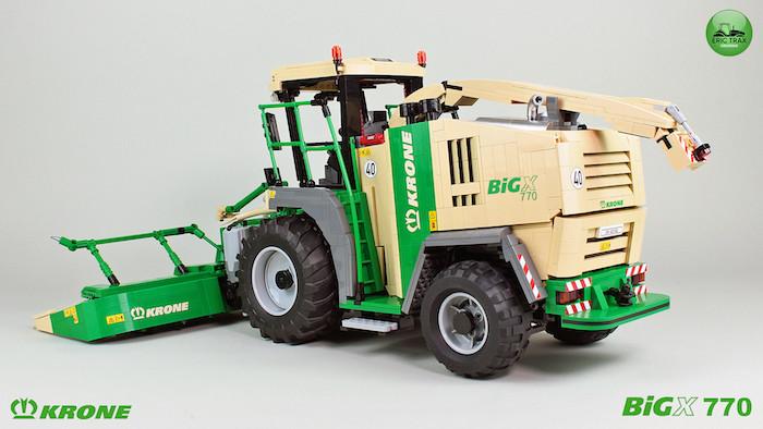 Krone BigX 770 lego technic moc eric trax