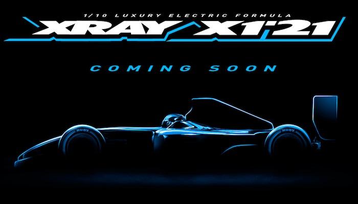 Xray X1'21 Formula one car