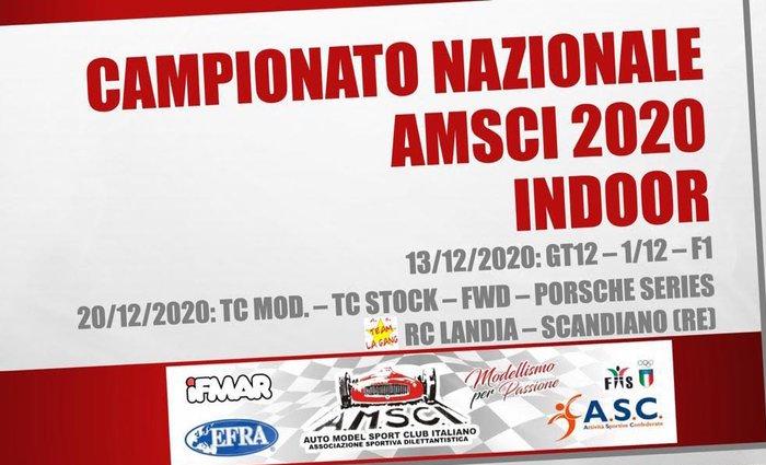 AMSCI: Campionato nazionale indoor 2020