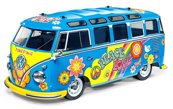 Tamiya: RC Volkswagen Type 2 Flower Power - M05
