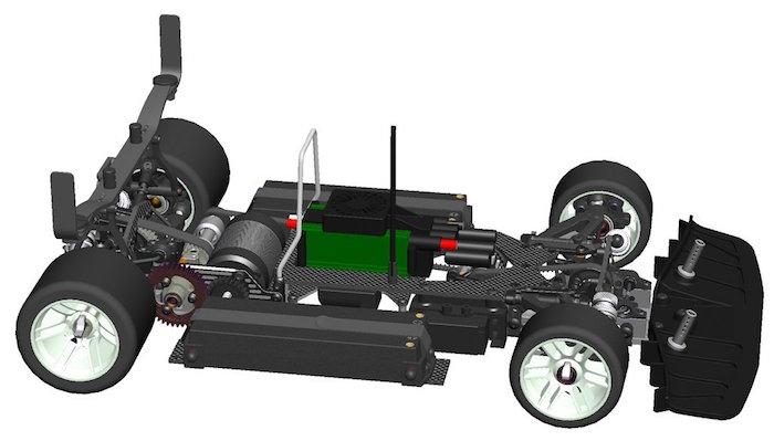 Serpent: 989E Viper - Automodello da competizione brushless in scala 1/8