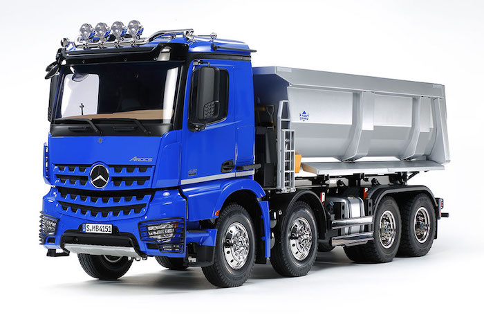 Tamiya- Mercedes-Benz Arocs 4151 8x4 Tipper Truck in scala 1 14