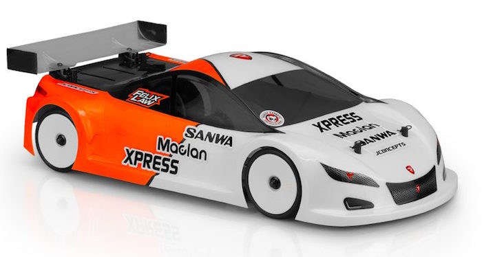 "JConcepts - nuova carrozzeria A2R ""A-One Racer 2"" per Touring Car 190mm"