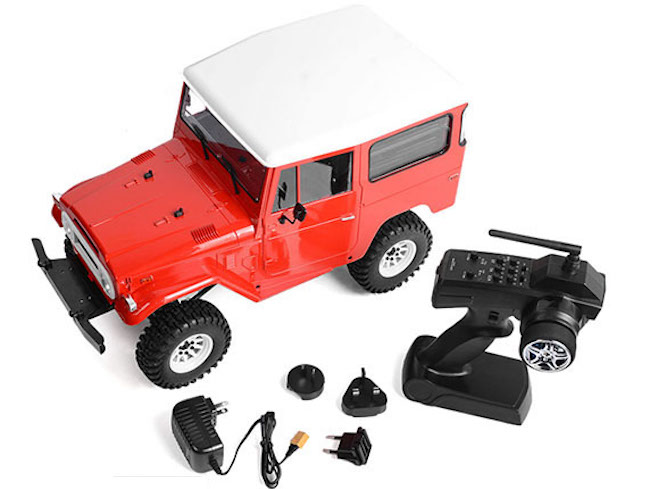 RC4WD- Gelande II RTR Cruiser - Nuovo Video set