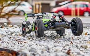 Team Corally: 2021 Radix4 - Radix6 buggy brushless in scala 1/8