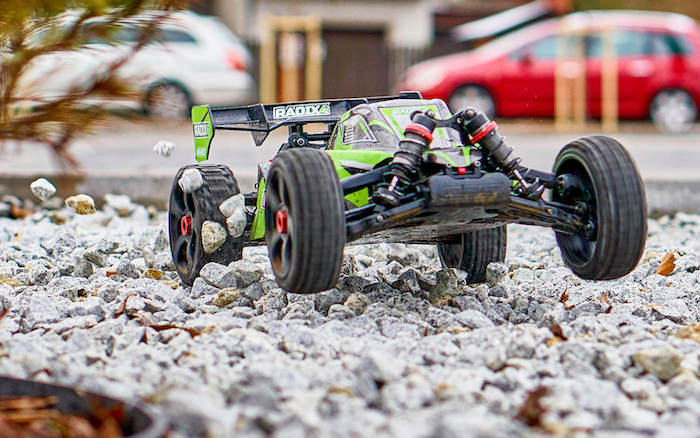 Team Corally: 2021 Radix4 - 6 buggy brushless in scala 1/8