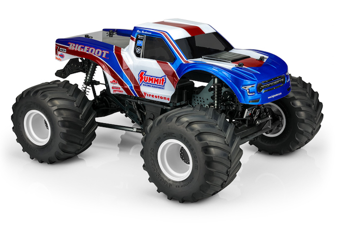 JConcepts: carrozzeria 2020 Ford Raptor Bigfoot - Summit Racing