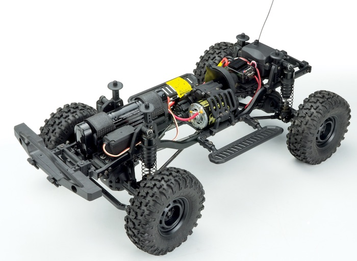 Carisma: Coyote 2.1 - Nuovo video del crawler 4WD RTR