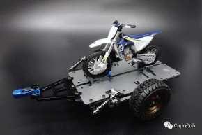 Kaioz Model Studio: Carrello per motociclette in scala 1/18