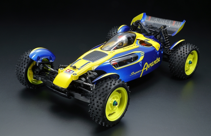 Tamiya: New SUPER AVANTE - TD4 chassis