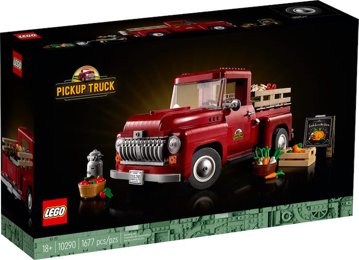 LEGO- Pickup truck - Set 10290 box