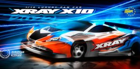 Xray: X10'22 automodello da competizione in scala 1/10