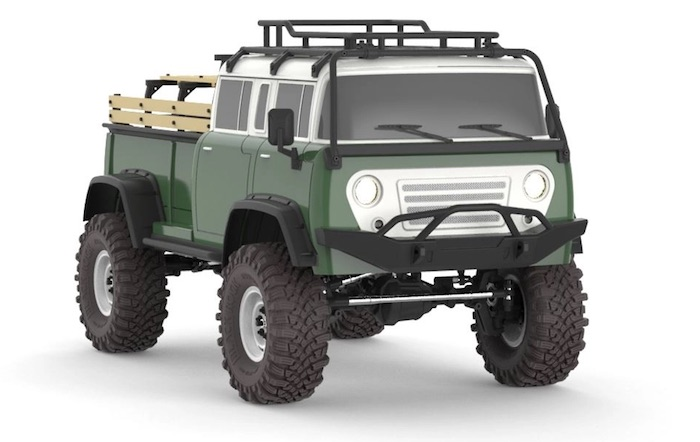 Cross RC- JT4 4X4 Rock Crawler - RTR verde 1