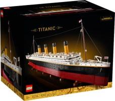 LEGO: Titanic - Arriva la riproduzione del leggendario transatlantico britannico (set 10294)