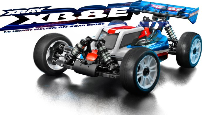 Xray XB8E 2017 1/8th Brushless buggy kit