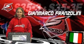 The young pilot Gianmarco Franzolini joins SWORKz