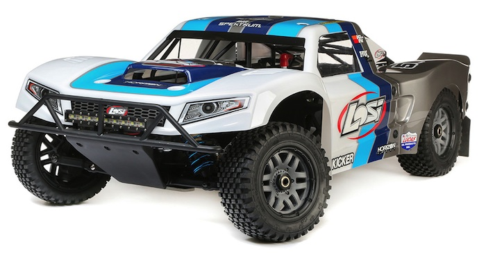 Losi 5IVET 2.0 4WD 1/5 scale Short course truck gas engine