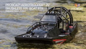 ProBoat Aerotrooper: Brushless AIR BOAT RTR