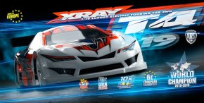 Xray T4 19: New electric 1/10 scale touring car kit
