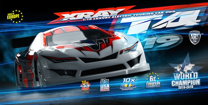Xray T4 19 electric touring car kit