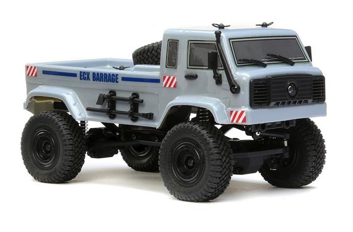 ECX Barrage UV FPV scaler crawler SET