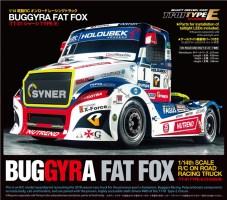 Tamiya Buggyra Fat Fox Race Truck 1/14th Scale