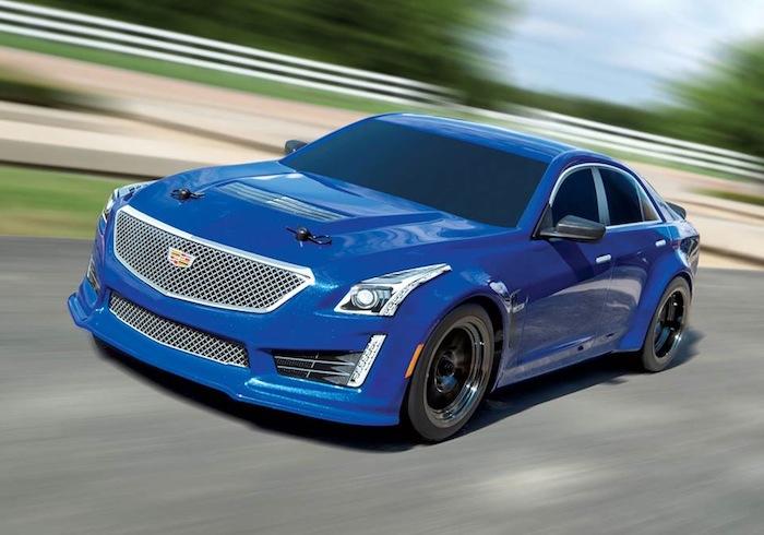 Traxxas: 4Tec 2.0 Cadillac CTS-V body