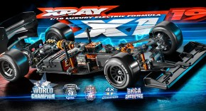 XRAY X1 2019 1/10th Scale Luxury Electric RC Formula