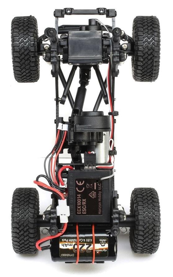 ECX- Barrage UV FPV scaler crawler chassis