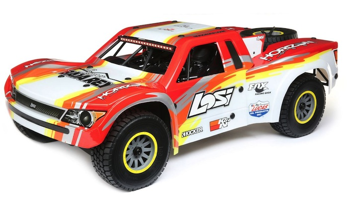 Losi Super Baja Rey: brushless Desert Truck - Video