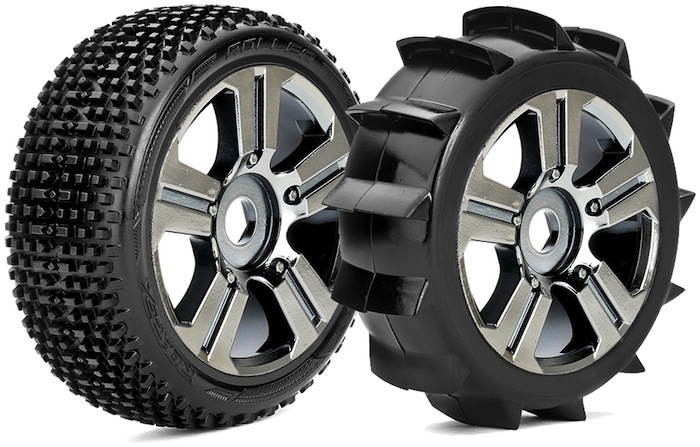 Roapex: Roller & Paddle 1/8 buggy tyres