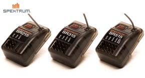 Spektrum SR515, SR315 & SR215 DSMR Receiver