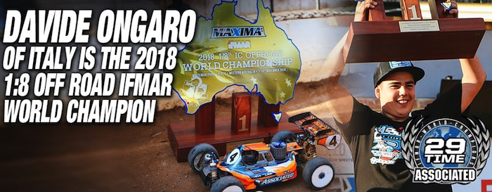 davide ongaro associated ifmar buggy 2018