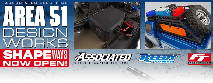 Team Associated: New 3D Printed option parts