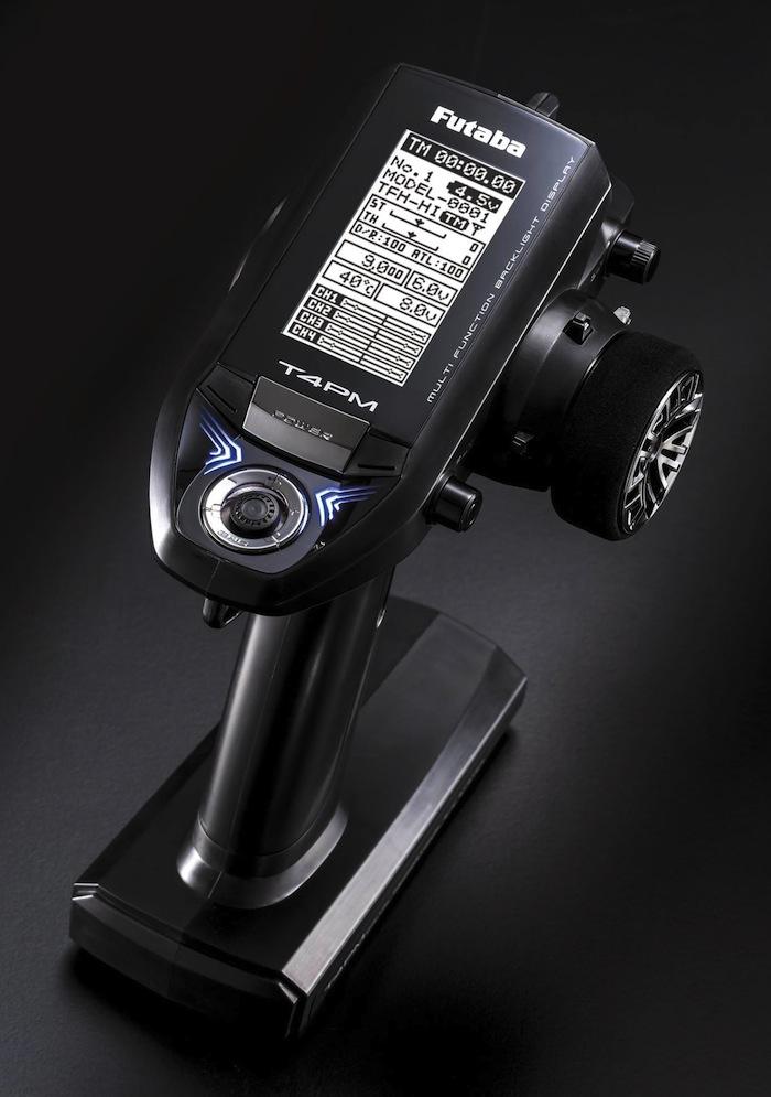 Futaba: 4PM Wheel Type Transmitter