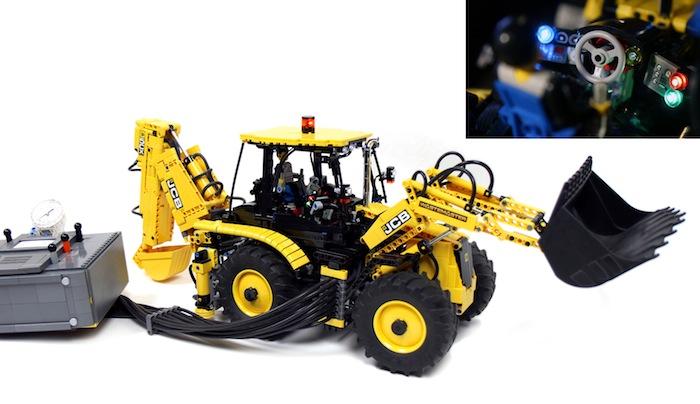LEGO: RC JCB 5CX Wastemaster Backhoe Loader - Hobbymedia