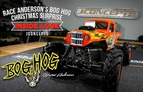 Inside Look to Race Anderson's Christmas Project!