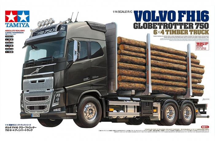 Tamiya Volvo FH16 Globetrotter 750