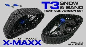 Integy T3 Snowmobile Tracks for Traxxas X-Maxx
