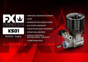 FX Engines: K501 3.5cc off-road nitro engine