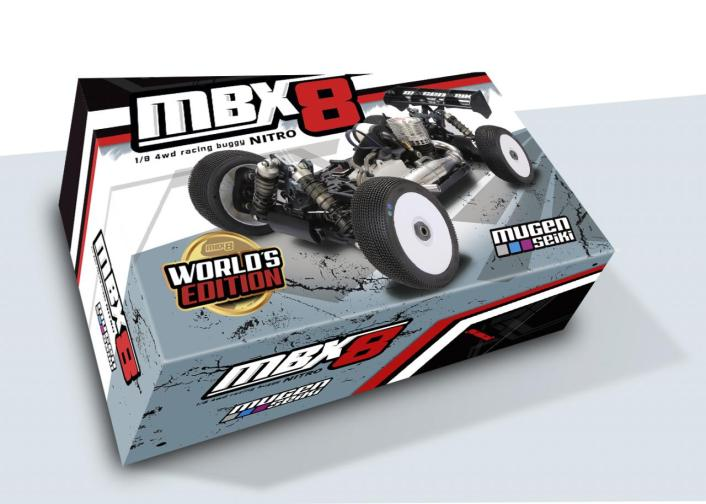 Mugen Seiki Racing MBX8 Worlds Edition