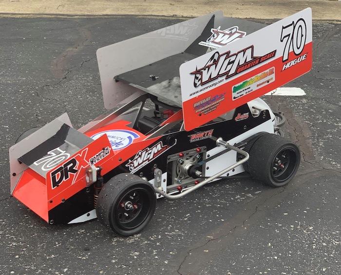 WCM Racing JP55 Shadow prototype 1/4-scale sprint car
