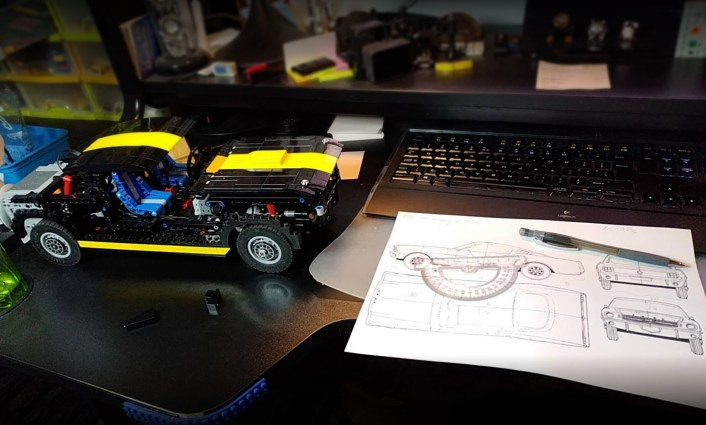 Sariel's Ford Mustang VS LEGO 10265 set