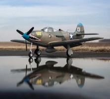 Eflite: P39 AIRACOBRA 1.2M Warbird
