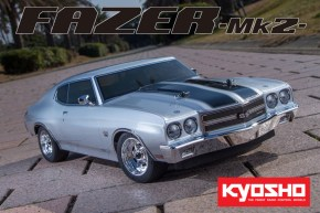 Kyosho: Fazer MK2 - 1970 Dodge Charger in Hemi Orange and Chevelle SS in Cortez Silver