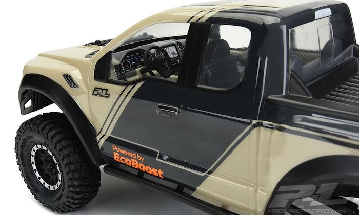 Late Model Scale Truck Interior