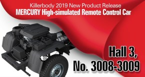 Killerbody: RC Mercury Scale rock crawler Teaser