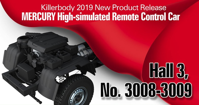 Killerbody: RC Mercury Scale Truck Teaser