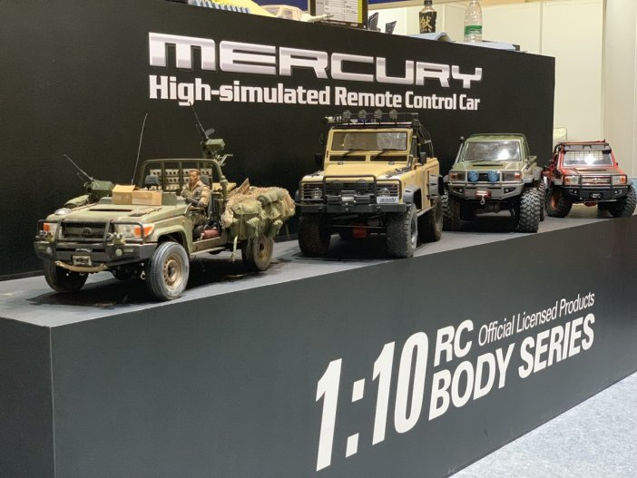 RC Mercury Scale Truck beijin